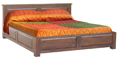 Indian Wooden Storage Beds