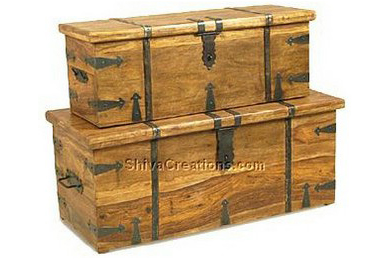 Indian Wooden Trunk Box Indian Wooden Trunk Furniture