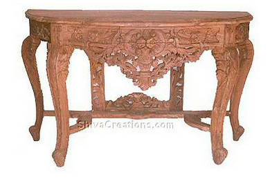 Square Leg Console Table India