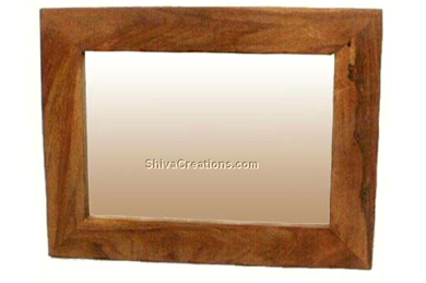 mirror wooden frame from india