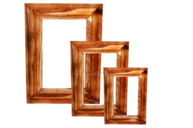 wooden frame mirror exporter india