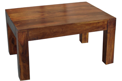 Opium style coffee table shape is rectangular wooden coffee table