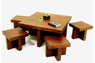 Wooden coffee table Furniture Jodhpur Wooden coffee table : wooden coffee table set - pezcame.com