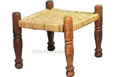 Wooden stool designs india